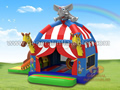 GB-413 Circus inflatable combo