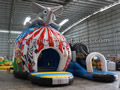 GB-420 Circus disco dome with slide