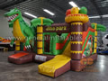 GB-421 Dinosaur inflatable combo
