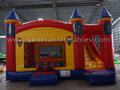 GC-158 Inflatable castle combo