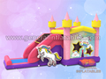 GC-161 Sparkle unicorn bouncy castle