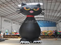 GCar-57 Inflatable Black Cat