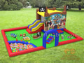 GF-113 Pirate indoor playland with softplay and ball pond