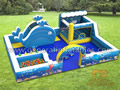 GF-114 Ocean indoor playland with softplay and ball pond