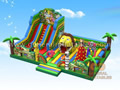 GF-127 Jungle playground with moving lion mouth