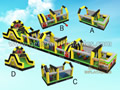 GO-152 Linear Obstacle course