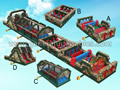 GO-154 Large Camouflage Obstacle course