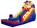 Circus Clown character slide