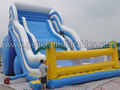 GS-195 inflatable wave slide