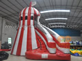 GS-243 Inflatable Helter Skelter Slide