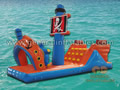 GW-14 Pirate ship water game