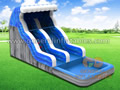 GWS-107 inflatable water slide
