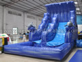 GWS-114 Dophin water slide with pool