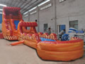 GWS-115 Water slide n slip with pool