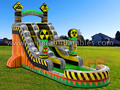 GWS-12 Toxic Run water slide