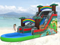 GWS-165 Tropical water slide