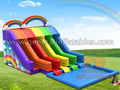 GWS-193 Rainbow 4 lines water slides
