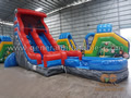 GWS-232 Water slide with detachable pool
