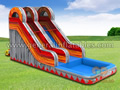 GWS-239 Fire water slide