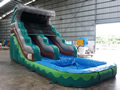 GWS-249  Inflatable water slide with pool