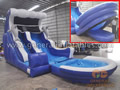 GWS-58 Water slide with cushion