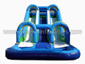 GWS-69 2 Lane Blue Water Slide