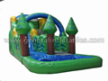GWS-75 Inflatable forest water slides